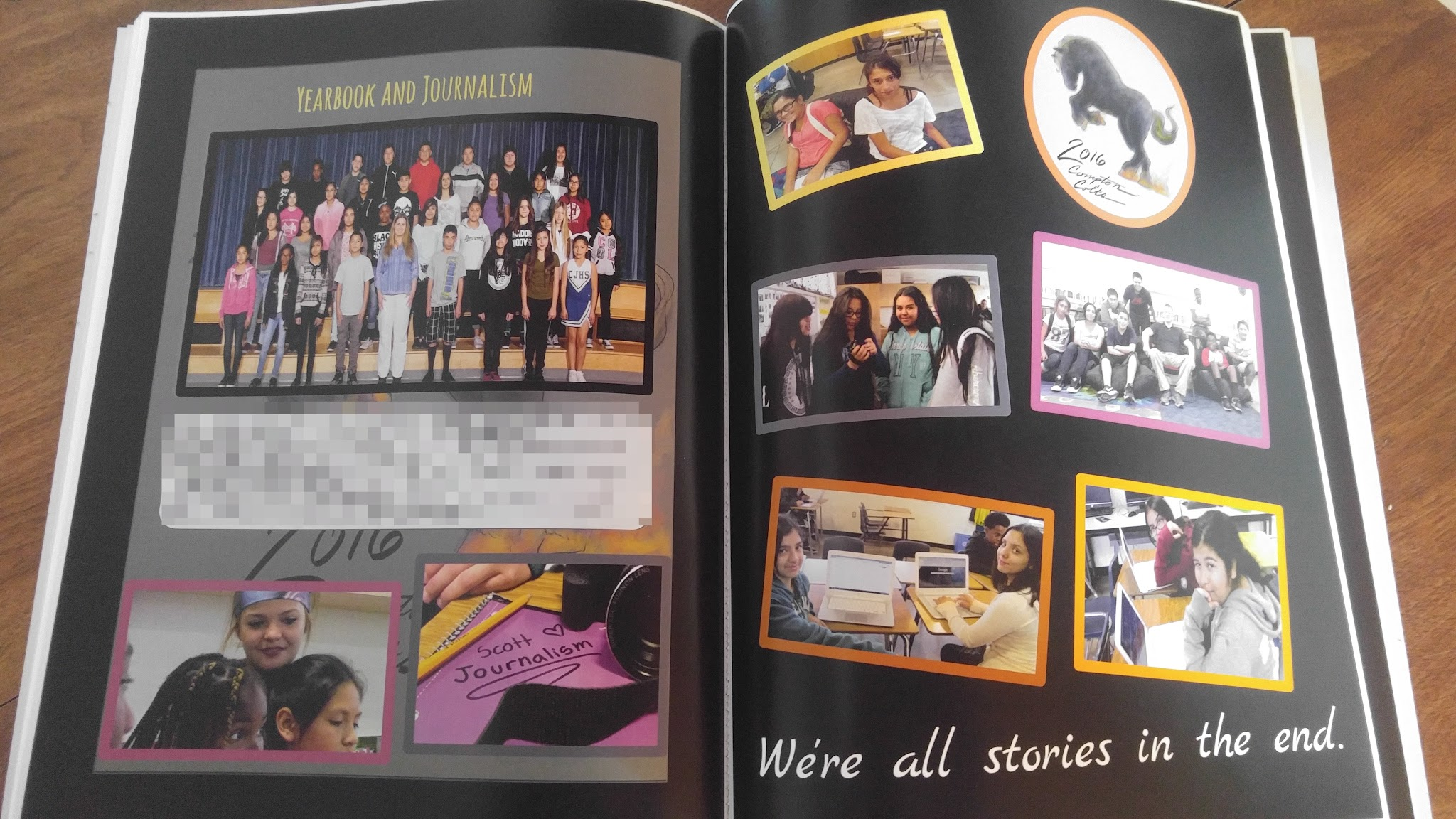 Compton 2016 yearbook