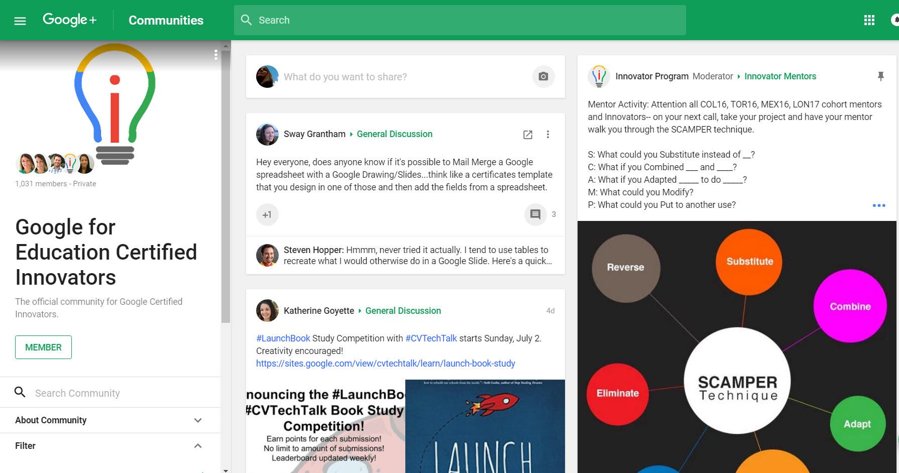 Google Innovator Community