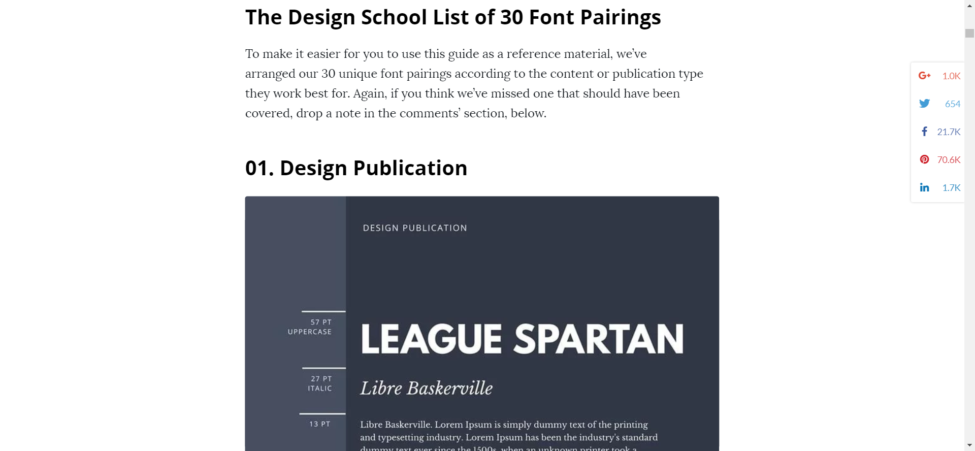 Canva font pairings