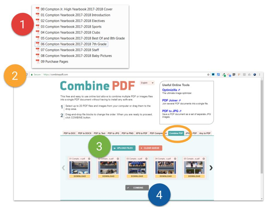 04 Download as multiple PDFs and Combine into 1 PDF