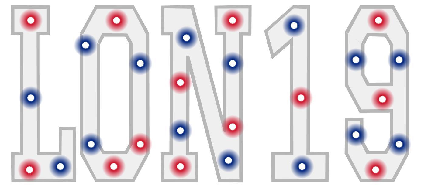 #LON19 Word Art