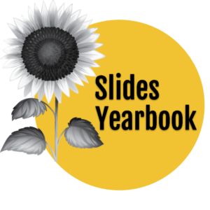 SlidesYearbook logo - Fjalla One font