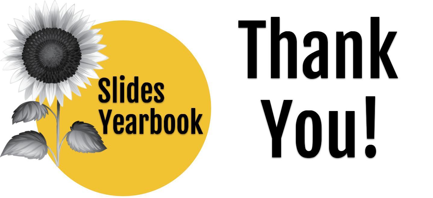 Thank you contributors