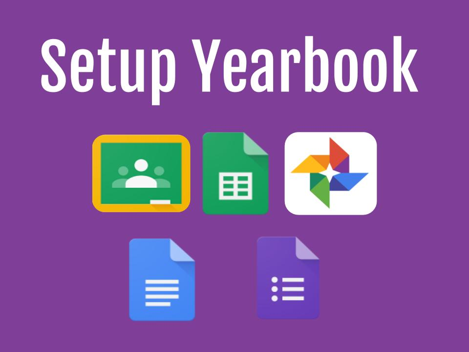 Setup Yearbook