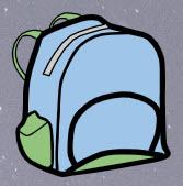 Compton 2019-2020 artwork - backpack
